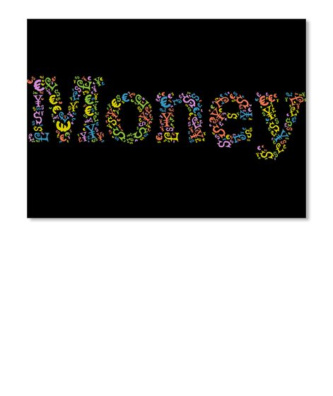 Money Valuta The Word 'Money' Is Written With The Most