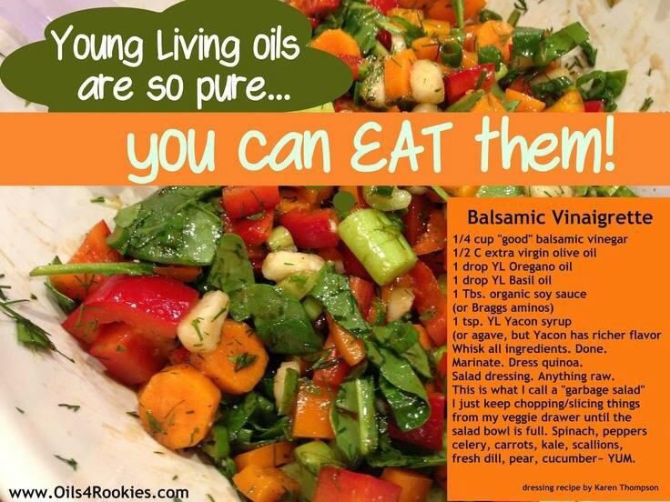 66 best young living essential oils food recipes images on pinterest essential oils balsamic vinaigrette recipe with oregano and basil forumfinder Gallery