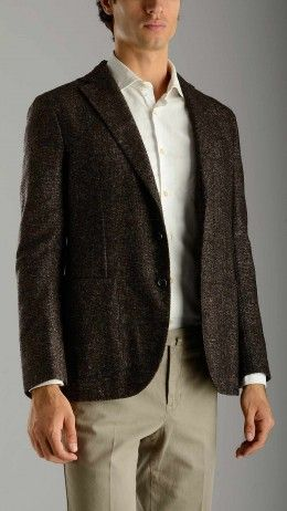 Brown Prince of Wales blazer