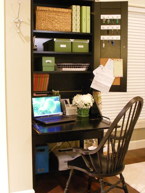 organized office and paperwork