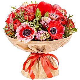 ФЛОРИСТ.РУ Заказ и доставка цветов по Москве, России, миру. Заказать доставку букетов цветов на дом, в офис