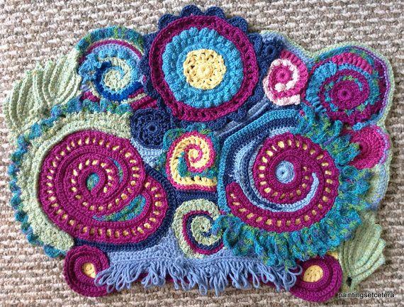 296 best Freeform Crochet images on Pinterest
