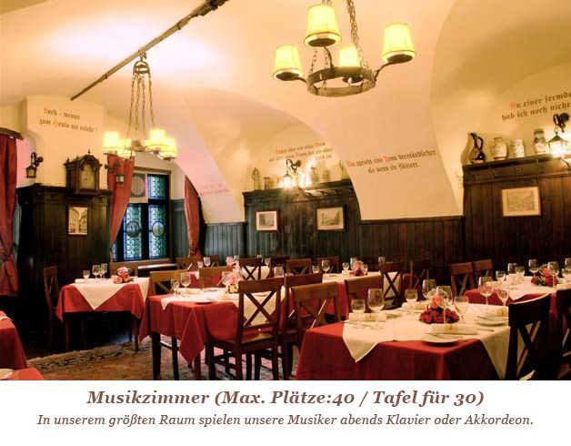 Griechenbeisl  Right near Stephansplatz you will find Vienna's oldest restaurant (since 1447), with its vaulted dining rooms and a shady garden. The ideal setting to try the local traditional Viennese cuisine.