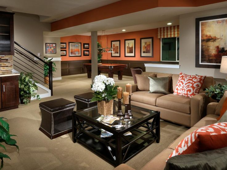 Inspirational Basement Decorating themes