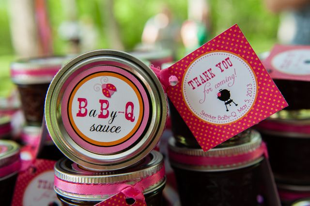 """Photo 4 of 7: Cookout/Baby-Q / Baby Shower/Sip & See """"Girl Baby-Q"""" 