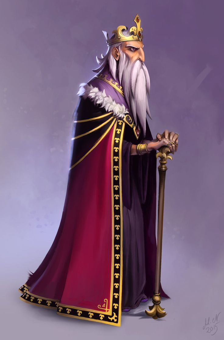 The Old King, Magnus Norén on ArtStation at https://www.artstation.com/artwork/the-old-king
