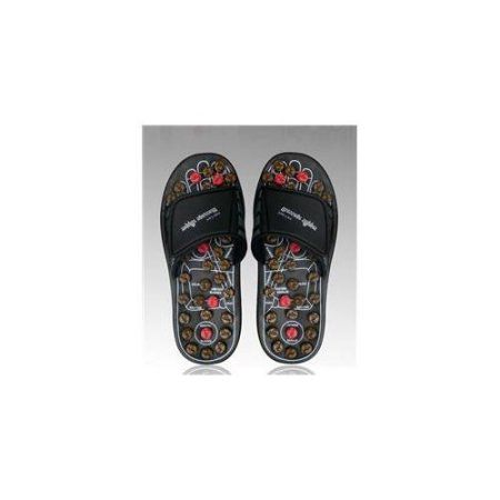 Living Health Products RS-700-b2-L Reflexology Sandals - Rotating massage heads -Large for 39,40,41, Multicolor