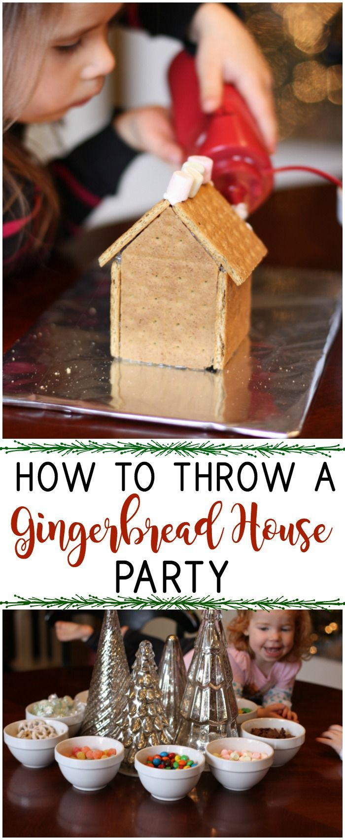 Making gingerbread houses is one of my most favorite traditions. However, there are a lot of little things that go into a gingerbread house party that make them run smoother. Check it all out for a successful gingerbread house party.