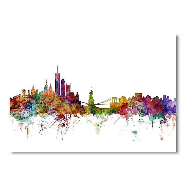 New York Skyline Print Art