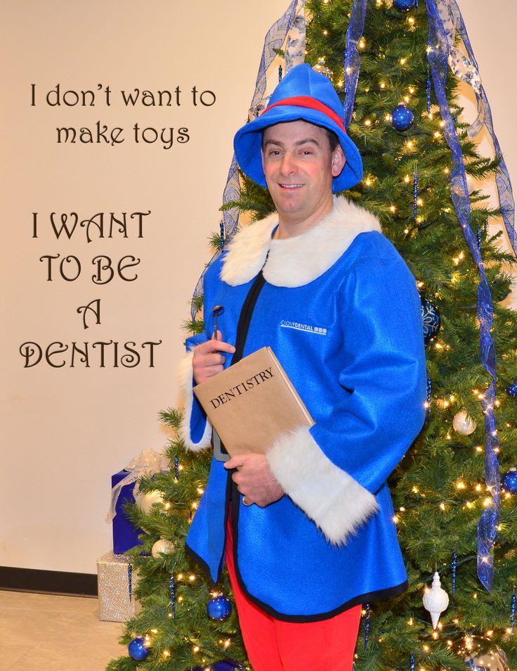 Clove Dental created a Hermey the Elf Dental Costume for this year's Clove Christmas Contest. http://clovedental.com/clove-christmas-contest/
