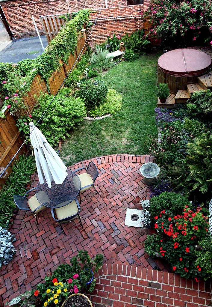 An idea for small backyards