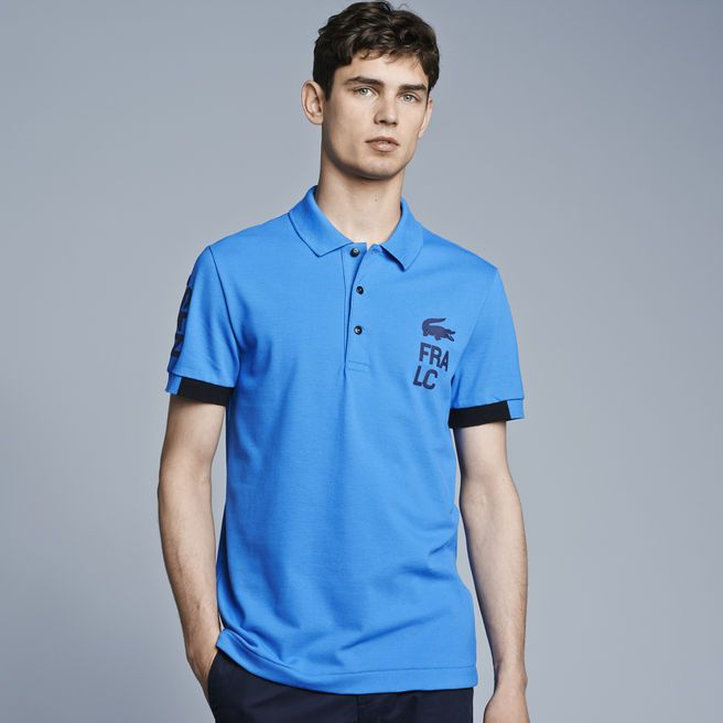 Polo Lacoste regular fit en stretch - 0