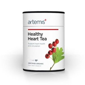 Healthy Heart Tea enchances circulation, balances blood pressure and gives your health the support it needs to stay healthy.   This health tea is ideal for the elderly, those with heart issures or athletes looking to benefit from a strong healthy heart.   http://www.nzhealthfood.com/artemis-healthy-heart-tea.html