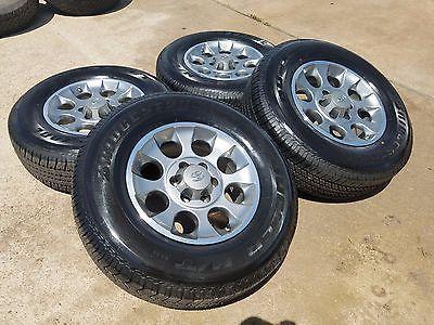 "17"" Toyota Tacoma 2014 wheels rims tires Fits 2013 2015 2017 4Runner FJ Cruiser"