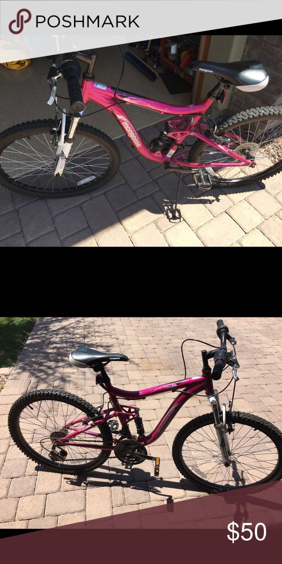 Pink mongoose mountain bike size 24 In great condition I'm just too big for it. Ships from Arizona Mongoose Other