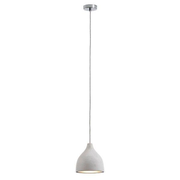 Tadao 1 Medium Point Top Pendant in Concrete