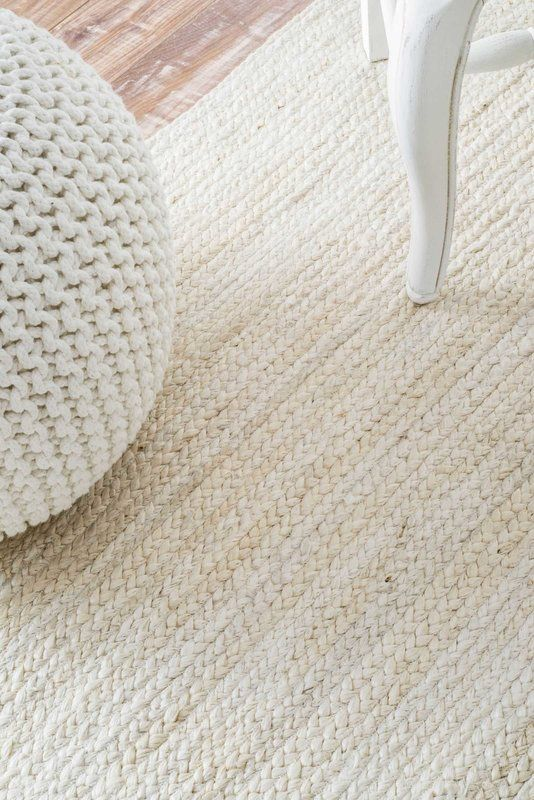 Burrillville Hand Tufted Off White Area Rug Great Room In
