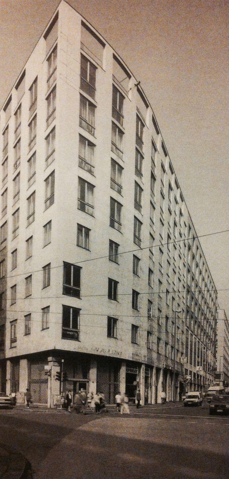 via Albricci block, Milan 1954   Asnago and Vender architects