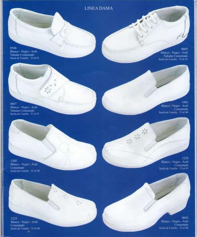 Zapatos antideslizantes para enfermeras