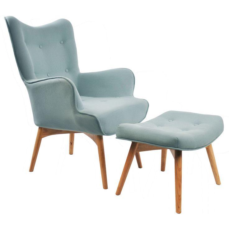 Best Olander Armchair Blue Accent Chairs Retro Armchair 400 x 300