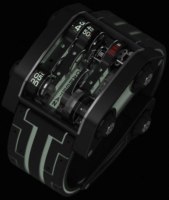 Cabestan Nostromo Futuristic Watch