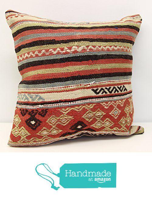 Turkish kilim pillow cover handmade 18x18 inch (45x45 cm) Oriental Kelim pillow cover Home Decor Natural Pillow cover Accent Kilim Cushion Cover from Kilimwarehouse https://www.amazon.com/dp/B0722H5QB7/ref=hnd_sw_r_pi_dp_l1W.ybW5RHGN2 #handmadeatamazon