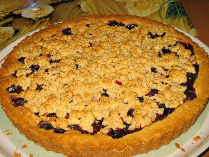 Рецепт торт песочный фруктовый