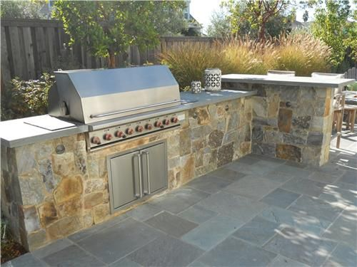 80 best images about what you can do with countertops on for Outdoor kitchen wall ideas