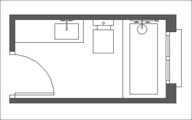 Decofilia te muestra ideas para decorar y te enseña a distribuir espacios. En esta ocasión te mostramos cómo distribuir baños estrechos y alargados.