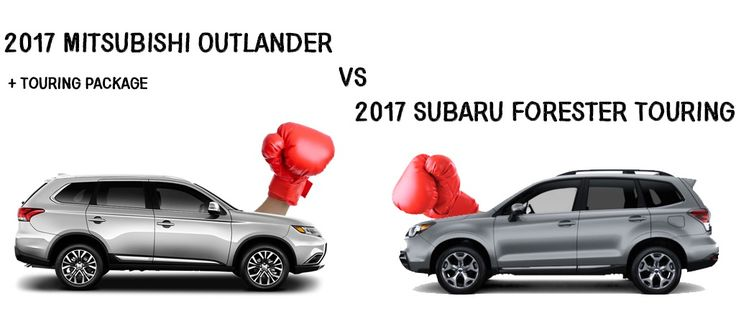 Between the Mitsubishi Outlander with a Subaru Forester, which one would you choose? #Mitsubishi #Outlander #Subaru #SUV #Cars