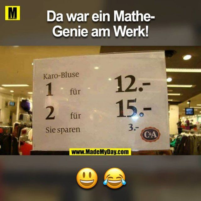 Da war ein Mathe-Genie am Werk!