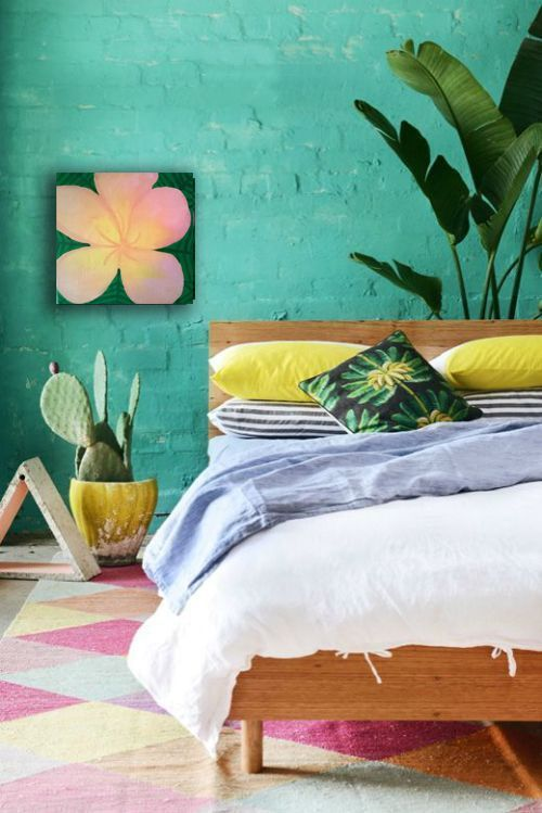 Art Gallery #floralart #plumeria #hawaiian