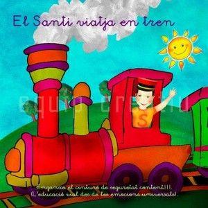 El Santi viatja en tren