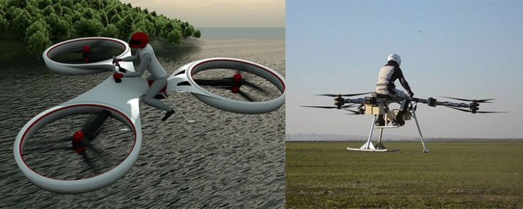 Devenez un homme-oiseau avec ce drone pour une personne