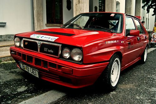 Lancia Delta HF Turbo
