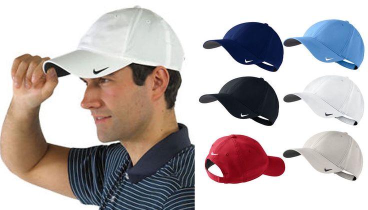 Nike Golf Unisex Tech Blank Lightweight Cap / Sports Hat Baseball Style - NK226