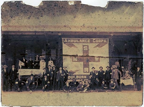 Ambulance Corps, Goulburn by State Records NSW, via Flickr