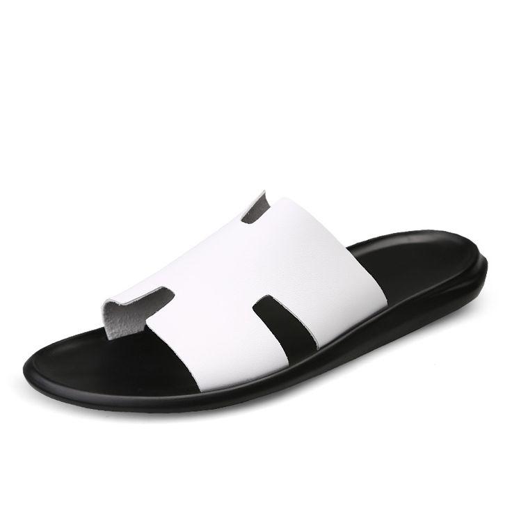 Men's Sandals Flip Flop Summer Slippers Men Casual Sandals Leisure Soft Slides Eva Massage Beach Slippers Water Shoes 5J8976