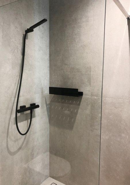 Minimalistyczna Półka Pod Prysznic Docia Dabstory Home