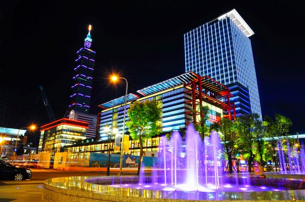 Taipei, Taiwan | 15 Colorful Buildings That Will Brighten Up Your Day