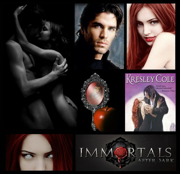 Kresley Cole The Immortals After Dark /  Кресли Коул  Бессмертные с приходом темноты/  Встреча с судьбой // Wicked Deeds on a Winter's Night
