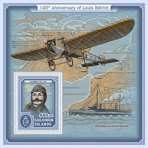 SLM17111b 145th anniversary of Louis Blériot (Louis Blériot (1872–1936)