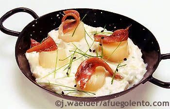 Cazuelita de espárragos blancos y anchoas    Todo Tapas| Navidad Recetas y menús, Tapas de principio a fin - A FUEGO LENTO