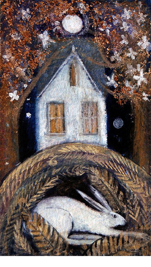 sleeping hare - Catherine Hyde