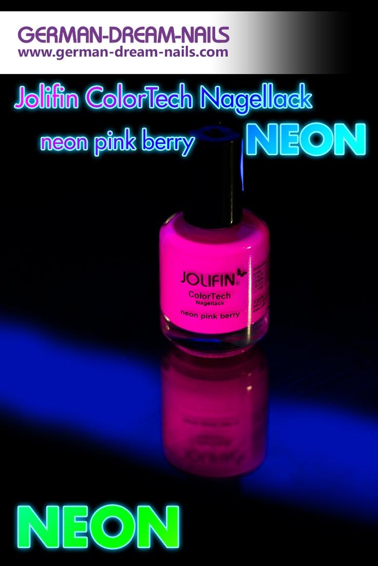 Neon - der Trend des Sommers Mit den ColorTech Nagellacken tragt Ihr garantiert die richtige Farbe. #Naildesign #Nailart #Jolifin