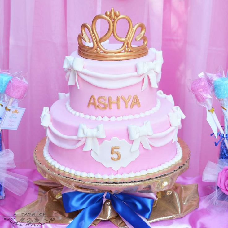 What an incredible cake at this Sleeping Beauty Birthday Party!! See more party ideas and share yours at CatchMyParty.com #birthdaycake #princess