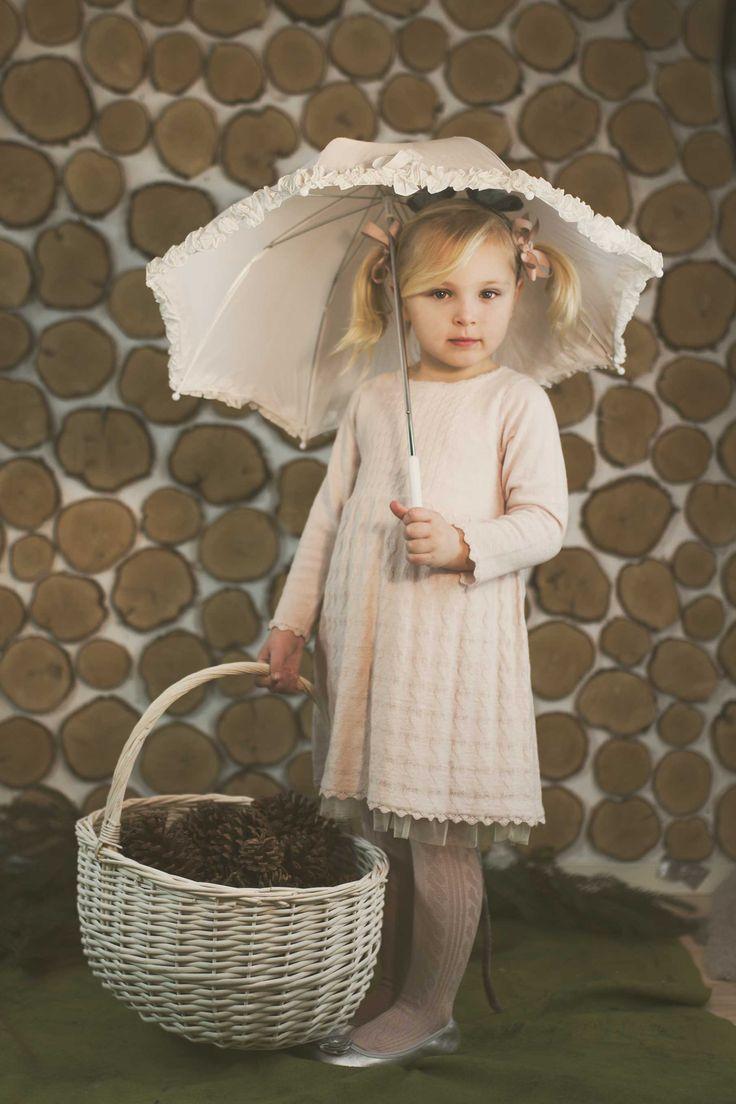 Cute childrens wear, baby outfits, memini , nordic childrens wear, girls dress, knit dress, pink dress