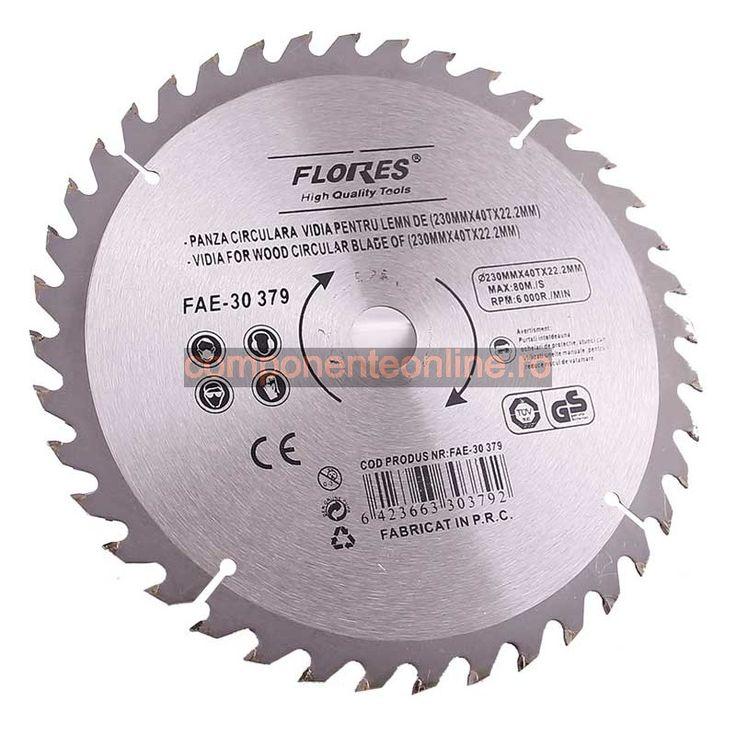 Panza circular, pentru lemn, vidia, 115x24x22,2mm - 200788