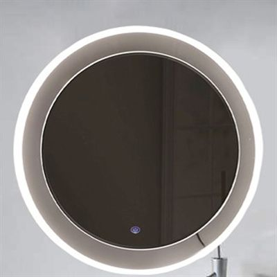 Ceramics by JAG PBI-JM-LED-002 Showroom Series Illiana Round LED Mirror