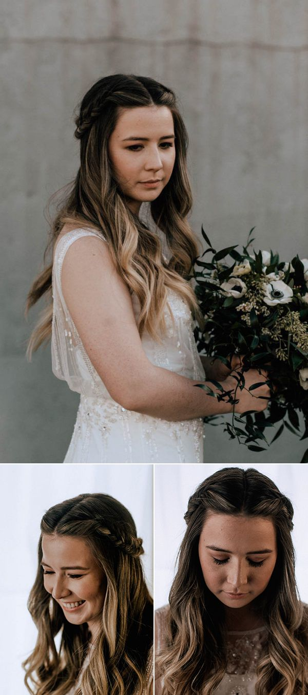Braided bridal hairstyle | Image by Joseph West